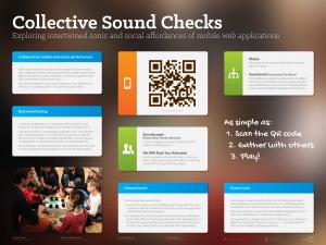 Collective Sound Checks TEI'15 Poster
